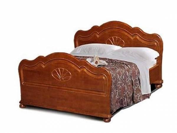 Кровать Ромашка 140 ММ-44-02-04 вишня