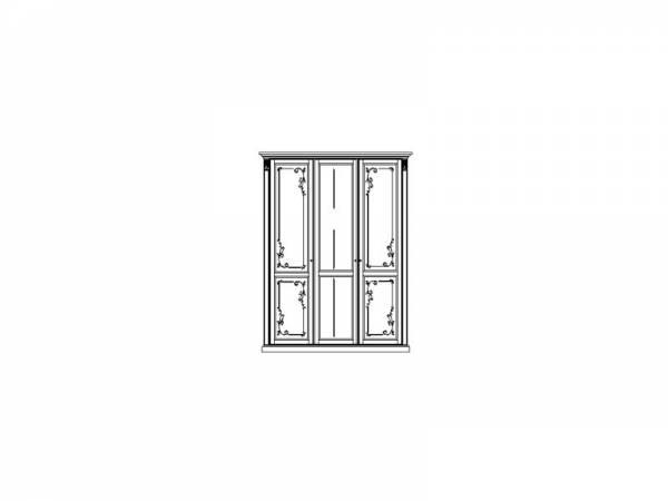 Шкаф для одежды ММ-300-01/03