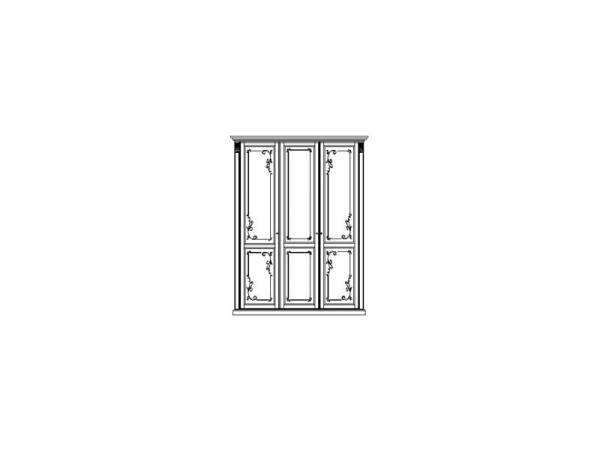 Шкаф для одежды ММ-300-01/03Б