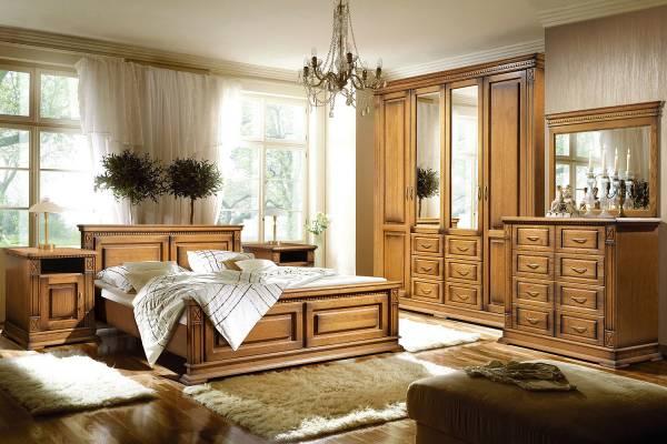 Набор мебели для спальни Верди Люкс #1