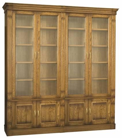 Шкаф для библиотеки Верди 4 П196.Н4