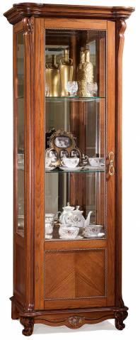 Шкаф с витриной Алези 8 П350.08-01