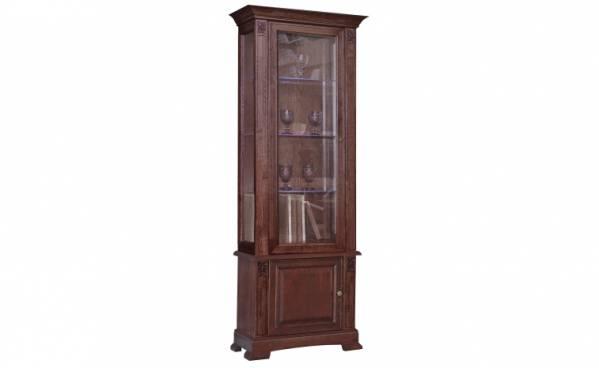 Шкаф с витриной Пьемонт П518.19