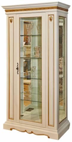 Шкаф с витриной Милана 8 П265.08