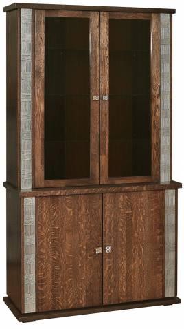 Шкаф комбинированный Тунис П343.17Ш