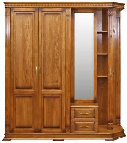 Шкаф комбинированный для прихожей Верди Люкс 1.1 П433.01-01