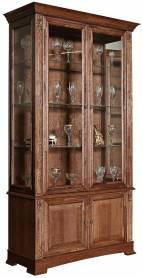 Шкаф с витриной Пьемонт П518.20