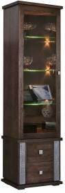 Шкаф с витриной Тунис П343.21Ш