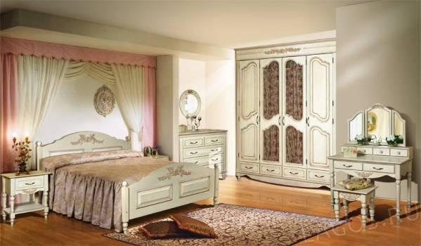Набор мебели для спальни Фиерта