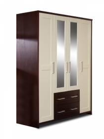 Шкаф для платья и белья Альтаир-39
