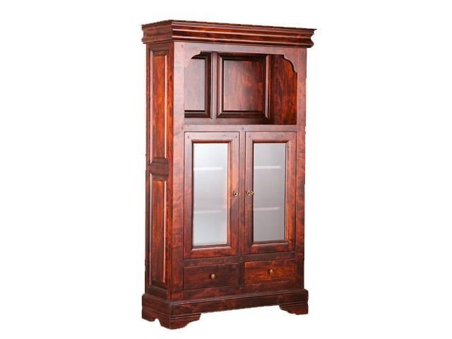 Шкаф с витриной ОВ 28.03 / МО 28.03