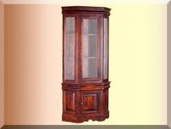 Шкаф с витриной Луи Филипп ОВ 28.04 / МО 28.04