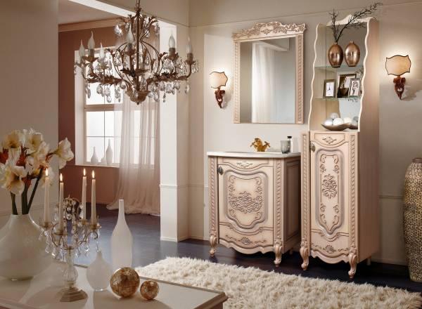 Комплект мебели для ванной «Венеция» КМК 0461