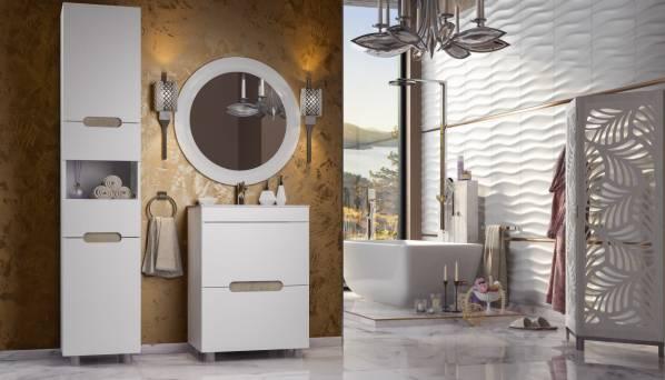 Комплект мебели для ванной «Ниагара» КМК 0642