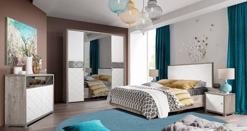 Набор мебели для спальни Кристал КМК 0650