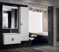 Комплект мебели для ванной «Адель» КМК 0460