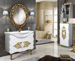 Комплект мебели для ванной «Искушение» КМК 0459