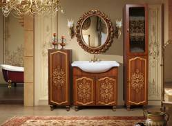Комплект мебели для ванной «Багира» КМК 0465