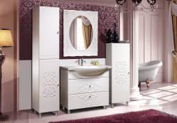 Комплект мебели для ванной «Нежность» КМК 0464