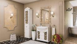 Комплект мебели для ванной «Жемчужина» КМК 0458