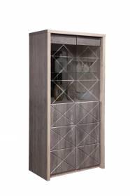 Шкаф с витриной 2Д Монако КМК 0673.5