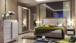 Набор мебели для спальник Роксет КМК 0554