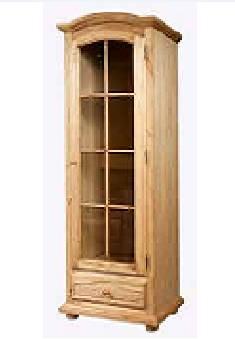 Шкаф с витриной Лотос БМ-2138-01