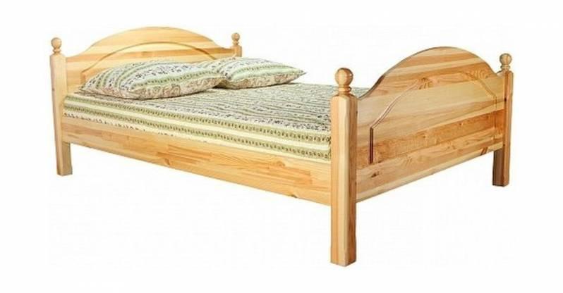 Кровать (с ножной спинкой) Лотос Б-1090-05