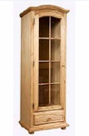 Шкаф с витриной Лотос БМ-2138