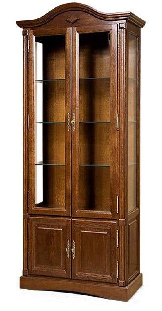 Шкаф с витриной Рубин ВМФ-6501