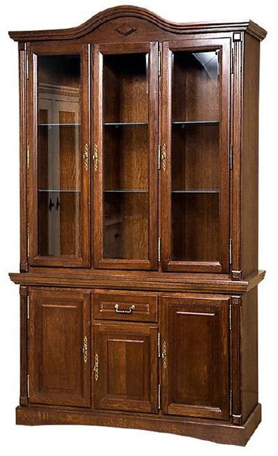 Шкаф с витриной Рубин ВМФ-6514